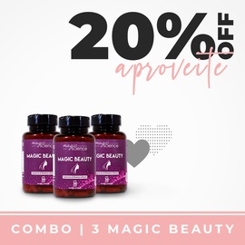 Combo Magic Beauty (Pílula da Beleza)